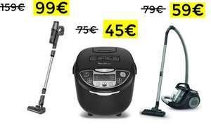 50% en Moulinex y Rowenta (Carrefour)