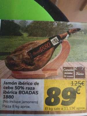 Jamón Ibérico 50%Raza ibérica de cebo