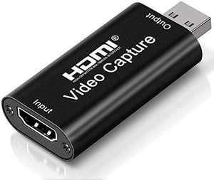 Capturadora de Video HDMI, 4K HDMI a USB 2.0