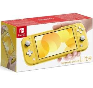 Nintendo Switch Lite Amarilla (vendedor externo)
