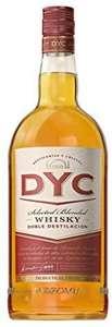Whisky DYC 1,5L por 13,59€