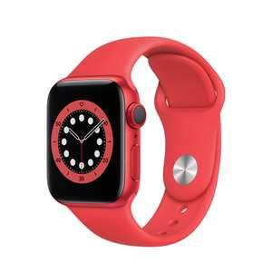 Apple Watch Series 6 GPS + Cellular 40mm Aluminio PRODUCT(RED) y correa deportiva Roja