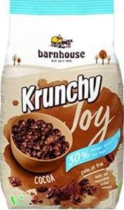 (Pack de 3) Krunchy Joy Muesli Cereales de Cacao - Ecológico, Vegetariano, Vegano - 375 g