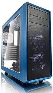 Fractal Design Focus G 2 x Ventiladores Silenciosos USB3 Ventana Panel ATX PC Case – Azul