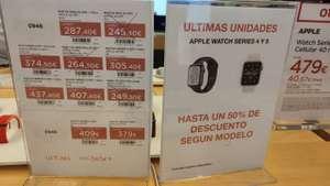 Apple watch series 4 y 5 a mitad de precio en el corte inglés valencia