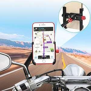 BTNEEU Soporte Móvil Moto Aluminio 360° Rotación