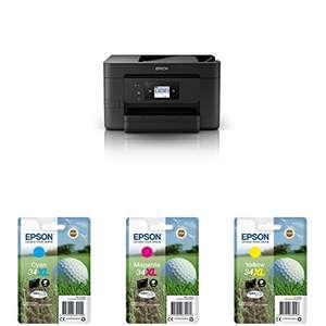 Epson Workforce - Impresora Multifunción + Cartuchos XL