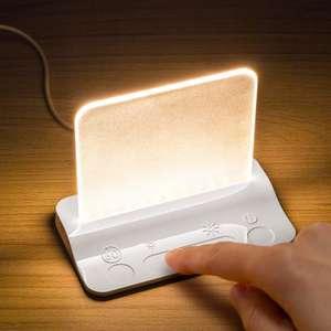 Integral ILTL-WH luz led Noche táctil y Regulable Nocturna Infantil