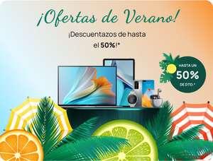 Ofertas de Verano HUAWEI hasta un 50% de DESCUENTO!