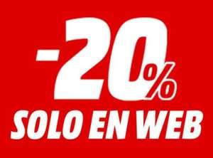 -20% Online en Mediamarkt