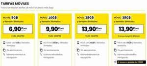 MásMóvil renueva sus tarifas móviles: ahora desde 6,90 euros
