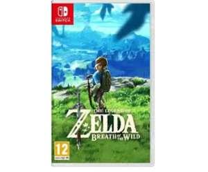 Nintendo Switch The Legend of Zelda: Breath of the Wild (También en Amazon)