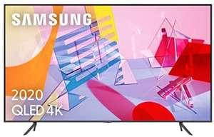 """TV QLED 75"""" - Samsung 75Q60T, 4K UHD 2020, Smart TV, HDR 10+, IA, Asistentes de voz, Negro"""