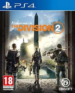 Tom Clancy'S the Division 2 - PS4 (Amazon y MediaMarkt)