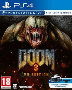 PS4: DOOM 3 VR PS4 por sólo 13,59€