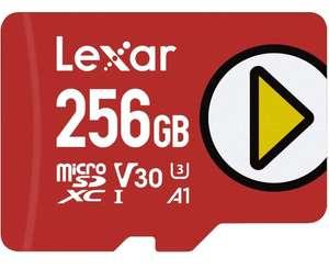 Tarjeta Lexar Play 256GB microSDXC UHS-I, hasta 150MB/s