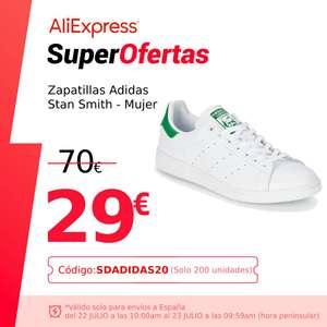 Adidas Stan Smith, PLAZA Zapatillas para Correr, Mujer, Cordones, Superior Sintética, Primegree, Forro sintético - NUEVO ORIGINAL
