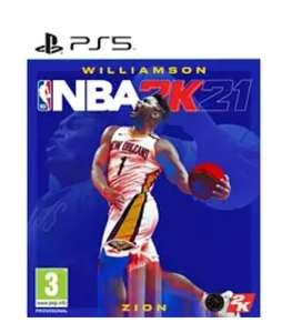 NBA 2K21 para PS5 (Incluye regalos para el juego)