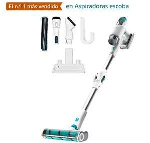 Aspirador escoba - Cecotec Conga RockStar 200 Vital ErgoFlex, 330 W, 80 dB, 0.4 l, Autonomía 50 min tb en Amazon