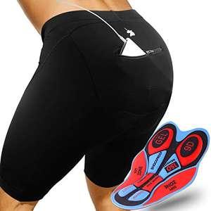 GRAT.UNIC Pantalones Cortos de Bicicleta