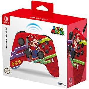 HORI - Mando Horipad inalámbrico Super Mario (Nintendo Switch)