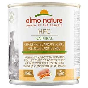 Almo nature HFC Natural - Pollo, zanahoria y arroz, 12 x 280g (perros)