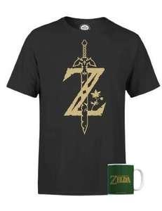 Camiseta y taza Zelda Nintendo