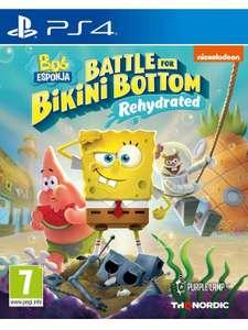 Bob Esponja Battle for Bikini Bottom Rehydrated (PS4)