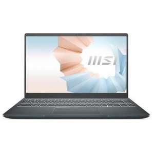 """MSI Modern 14 B11SB-009XES Intel Core i7-1165G7/16GB/512GB SSD/MX450/14"""" Reacondicionado"""