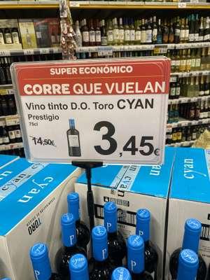 Vino tinto D.O Toro