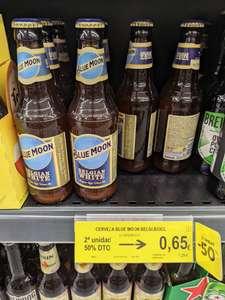 Segunda unidad cerveza Blue Moon 50% en bm supermercados