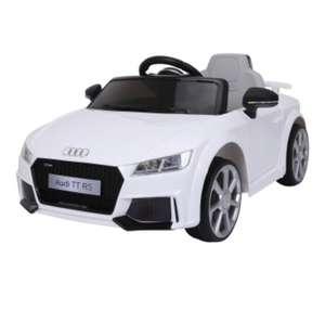 Audi Tt Rs Eléctrico Infantil Blanco