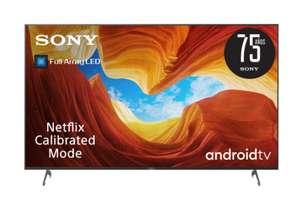 "TV LED 190,5 cm (75"") Sony KD/KE-75XH9096 Full Array Android TV 4K HDR X1 y 4K X-Reality PRO"
