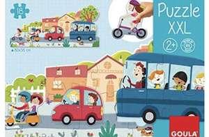 Goula- Vehiculos Puzzle XXL