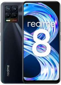 """Realme 8 4GB RAM 64Gb SSD 6,4"""" FHD AMOLED color Cyber Punk o Cyber Black"""