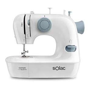 Máquina de coser Solac SW8221 Cotton 12 puntadas