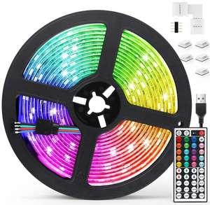 Tira led RGB 5050 5V por USB