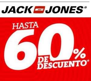 Hasta el 60% de dto. En artículos JACK & JONES!