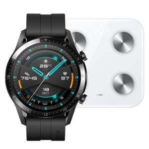 Huawei Watch GT 2 46mm Negro + REGALO Huawei Scale 3