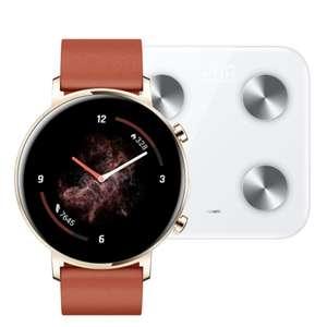 Huawei Watch GT 2 42mm Rojo + REGALO Huawei Scale 3