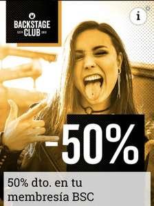 EMP 50% Membresia Backstage