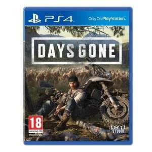 Days Gone o Spiderman para PS4 por 17,90€