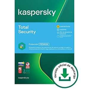 Kaspersky Total Security 2021 | 5 Dispositivos | 1 Año