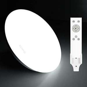 Anten Plafón de techo Regulable, Lámpara LED 24W con mando a distancia