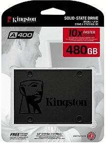Kingston A400 SSD 480GB y otras ofertas en discos duros