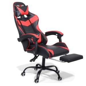 Douxlife® Racing GC-RC02 Silla para juegos Diseño ergonómico