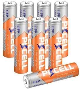 8 unids PKCELL NIZN 1.6V AAA 900mWh Ni-ZN batería recargable 3A