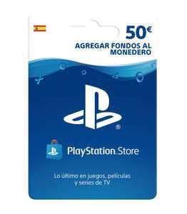 PSN Card España 50 Euros