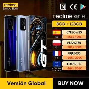 Realme GT 5G, Versión Global, 8GB+128GB AliExpress plaza.