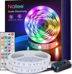 Tiras LED 20M RGB 5050 con IR Control Remoto y sincronización de música